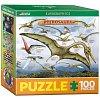 Пазл Eurographics Летающие динозавры, 100 элементов (8104-0680)