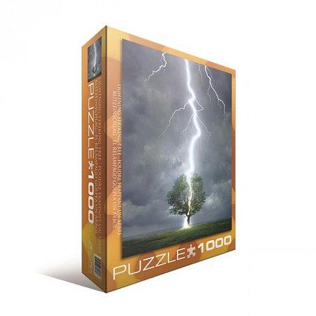 Пазл Eurographics Молния ударяющая в дерево, 1000 элементов (6000-4570)