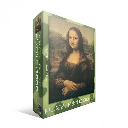 Пазл Eurographics Мона Лиза Леонардо да Винчи, 1000 элементов (6000-1203)