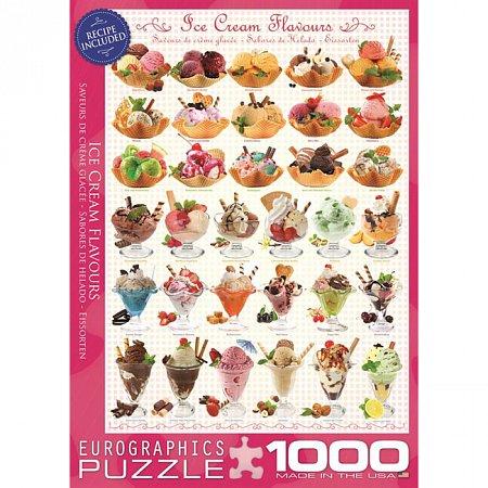 Пазл Eurographics Мороженое, 1000 элементов (6000-0590)