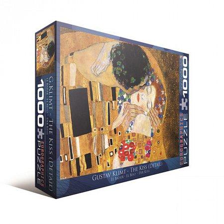 Пазл Eurographics Поцелуй (фрагмент) Густав Климт, 1000 элементов (6000-0142)