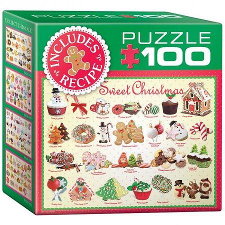 Пазл Eurographics Рождественские угощения №2, 100 элементов (8104-0433)