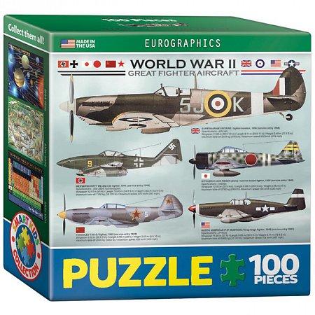 Пазл Eurographics Самолеты 2-й Мировой войны, 100 элементов (8104-0559)