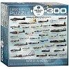 Пазл Eurographics Самолеты 2-й Мировой войны, 300 элементов (8300-0075)