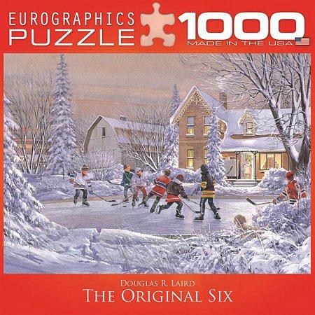 Пазл Eurographics Шестерка игроков, 1000 элементов (8000-0612)