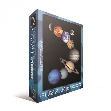 Пазл Eurographics Солнечная система, 1000 элементов (6000-0100)