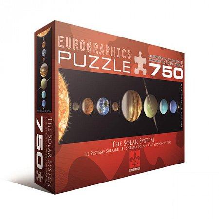 Пазл Eurographics Солнечная Система, 750 элементов (6005-0067)