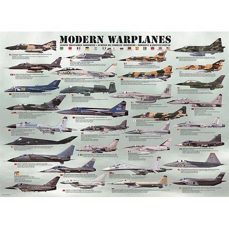 Пазл Eurographics Современные военные самолеты, 1000 элементов (6000-0076)