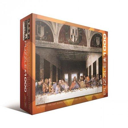 Пазл Eurographics Тайная вечеря Леонардо да Винчи, 1000 элементов (6000-1320)