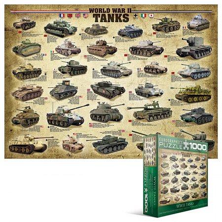 Пазл Eurographics Танки 2-й Мировой войны, 1000 элементов (8000-0562)