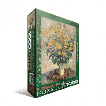 Пазл Eurographics Топинамбур Клод Оскар Моне, 1000 элементов (6000-0319)