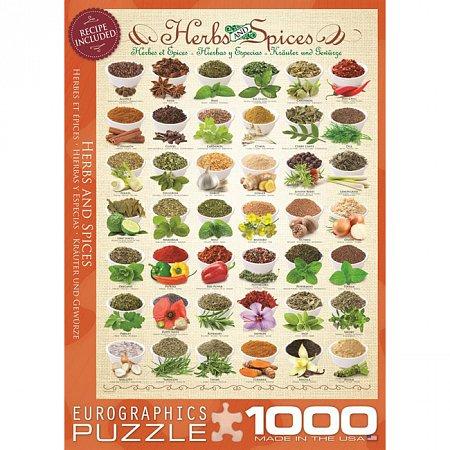 Пазл Eurographics Травы и специи, 1000 элементов (6000-0598)