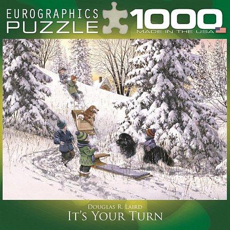 Пазл Eurographics Твоя очередь, 1000 элементов (8000-0613)