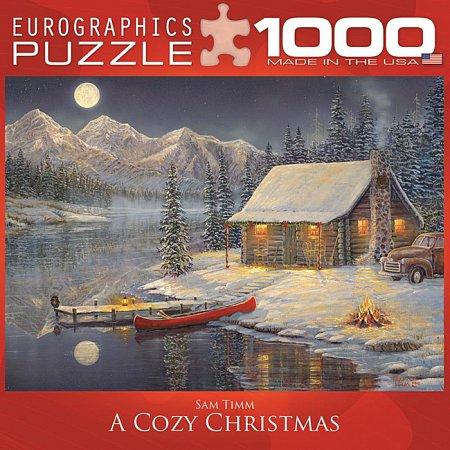 Пазл Eurographics Уютное Рождество, 1000 элементов (8000-0608)