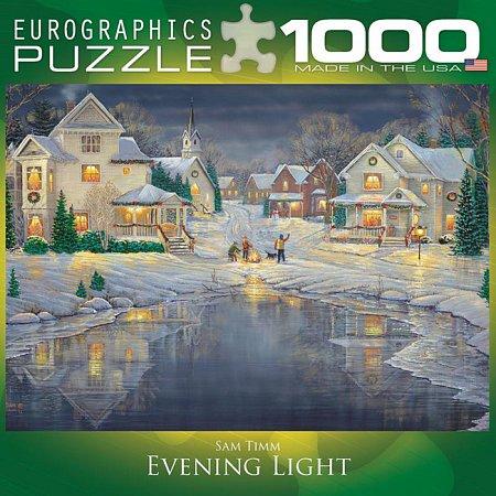 Пазл Eurographics Вечерний свет, 1000 элементов (8000-0609)