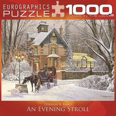 Пазл Eurographics Вечерняя прогулка, 1000 элементов (8000-0614)