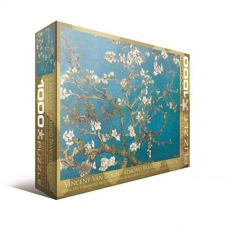 Пазл Eurographics Ветви цветущего миндаля Винсент ван Гог, 1000 элементов (6000-0153)