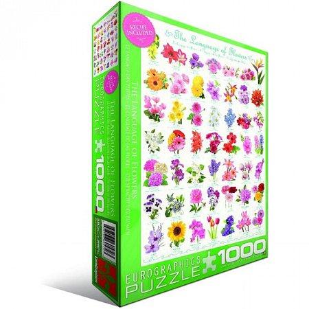 Пазл Eurographics Язык цветов, 1000 элементов (6000-0579)
