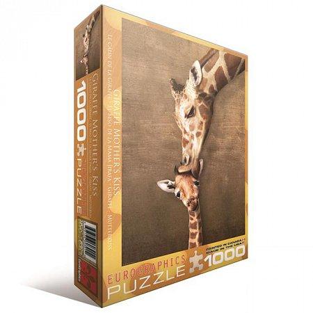 Пазл Eurographics Жирафы - материнский поцелуй, 1000 элементов (6000-0301)