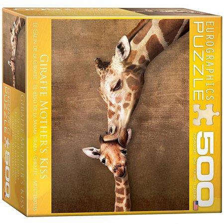 Пазл Eurographics Жирафы - материнский поцелуй, 500 элементов (8500-0301)