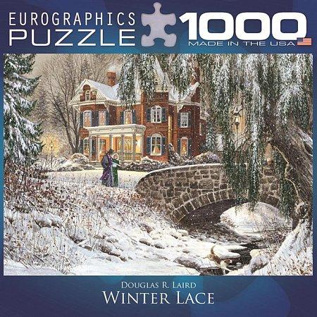 Пазл Eurographics Зимние узоры, 1000 элементов (8000-0611)