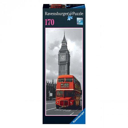 Пазл Лондонский автобус, 170 элементов, Ravensburger (15128)