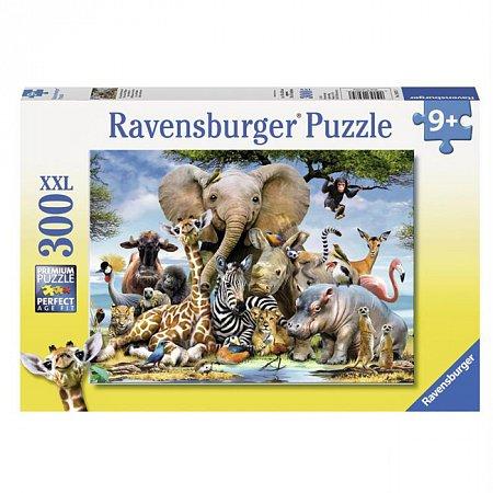 Пазл Ravensburger Африканские друзья, 300 элементов (RSV-130757)