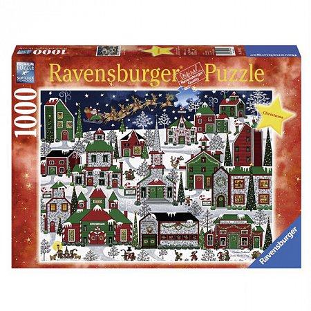 Пазл Ravensburger Американское Рождество, 1000 элементов (RSV-194445)