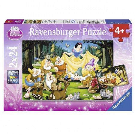 Пазл Ravensburger Белоснежка и семь гномов, 24 элементов (RSV-088898)