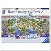 Пазл Ravensburger Чудеса Света, 2000 элементов. Панорамный (RSV-166985)
