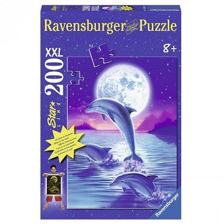 Пазл Ravensburger Дельфин в лунном свете, 200 элементов (RSV-139071)