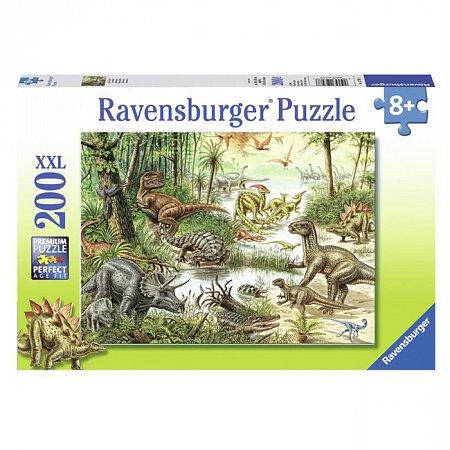 Пазл Ravensburger Динозавры, 200 элементов (RSV-127078)