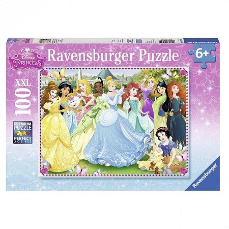 Пазл Ravensburger Диснеевские принцессы, 100 элементов (RSV-105700)