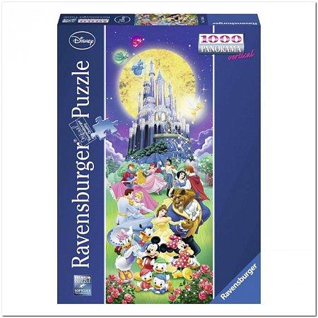 Пазл Ravensburger Диснеевский замок, 1000 элементов. Панорамный (RSV-150564)