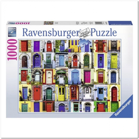 Пазл Ravensburger Двери мира, 1000 элементов (RSV-195244)
