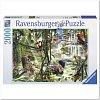 Пазл Ravensburger Джунгли, 2000 элементов (RSV-166107)