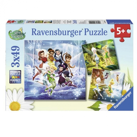 Пазл Ravensburger Феи - Четыре времени года, 49 элементов (RSV-092192)
