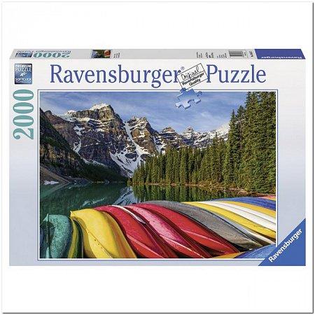 Пазл Ravensburger Горные каноэ, 2000 элементов (RSV-166473)