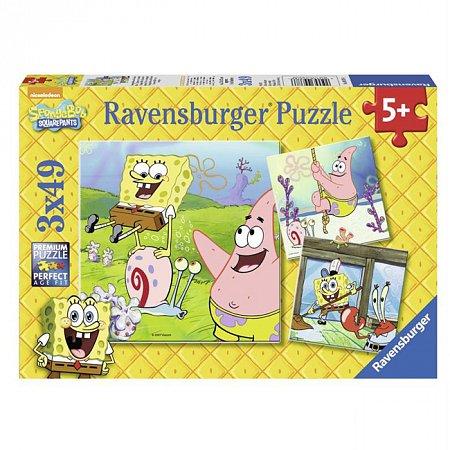 Пазл Ravensburger Губка Боб и его друзья, 49 элементов (RSV-093786)