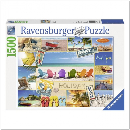 Пазл Ravensburger Хорошего отпуска, 1500 элементов (RSV-163076)