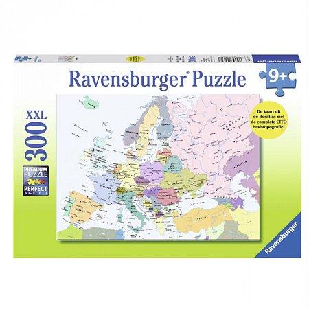 Пазл Ravensburger Карта Европы, 300 элементов (RSV-131327)