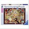 Пазл Ravensburger Классические игры, 1000 элементов (RSV-194063)