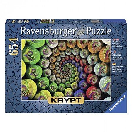 Пазл Ravensburger Крипт. Цветная спираль. 654 элементов (RSV-159826)