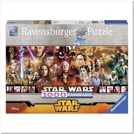 Пазл Ravensburger Легенды Звездных Войн, 1000 элементов. Панорамный (RSV-150670)