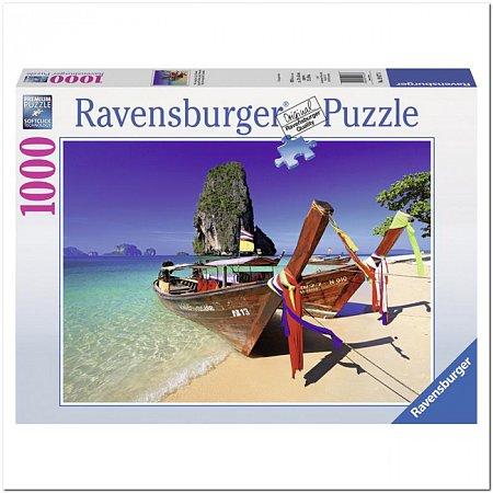 Пазл Ravensburger Лодки на Карибах, 1000 элементов (RSV-194773)