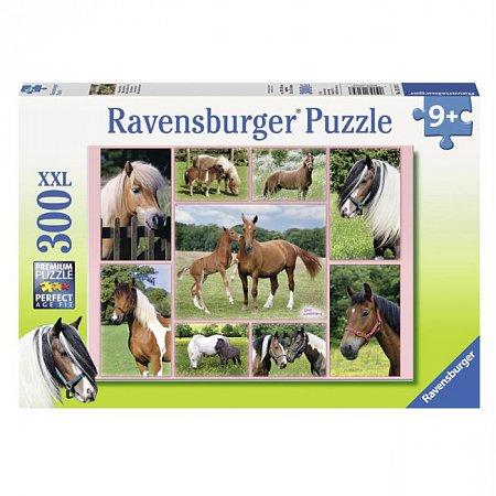 Пазл Ravensburger Лошади, 300 элементов (RSV-131747)
