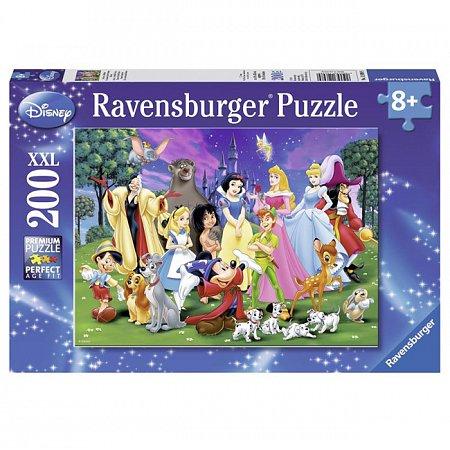Пазл Ravensburger Любимые герои Диснея, 200 элементов (RSV-126989)