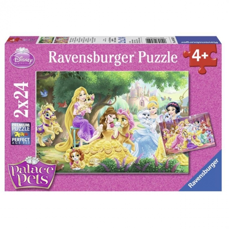 Пазл Ravensburger Лучшие друзья принцесс, 24 элементов (RSV-089529)