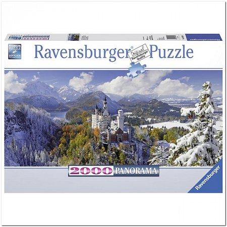 Пазл Ravensburger Нойшванштайн, 2000 элементов. Панорамный (RSV-166916)