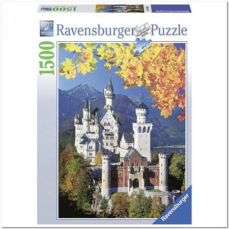 Пазл Ravensburger Нойшванштайн осенью, 1500 элементов (RSV-163861)